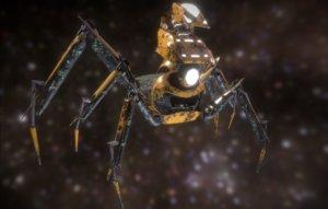 spider mech 3D