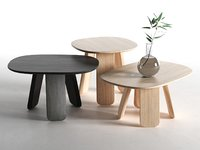 3D triku coffee tables model