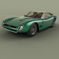 3D 1968 bizzarrini gt 5300