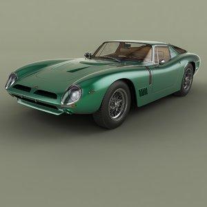 3D 1968 bizzarrini gt 5300