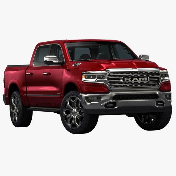 2019 dodge ram 1500 3D model