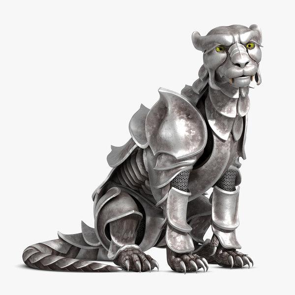3D rig tiger