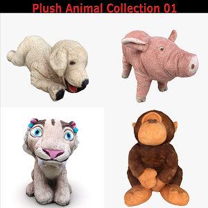 scan plush animals 3D model