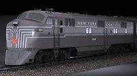 3D emd e7 nycrr model