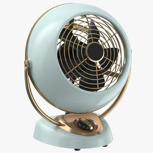 contemporary fan 3D model