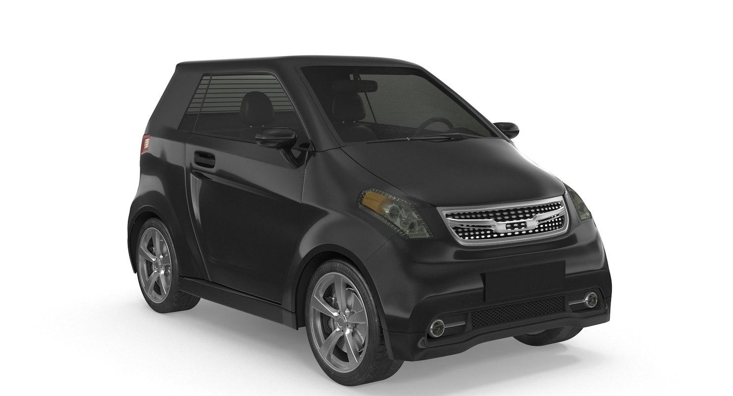 3D generic smart car m model