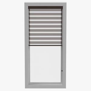 3D contemporary blinds model