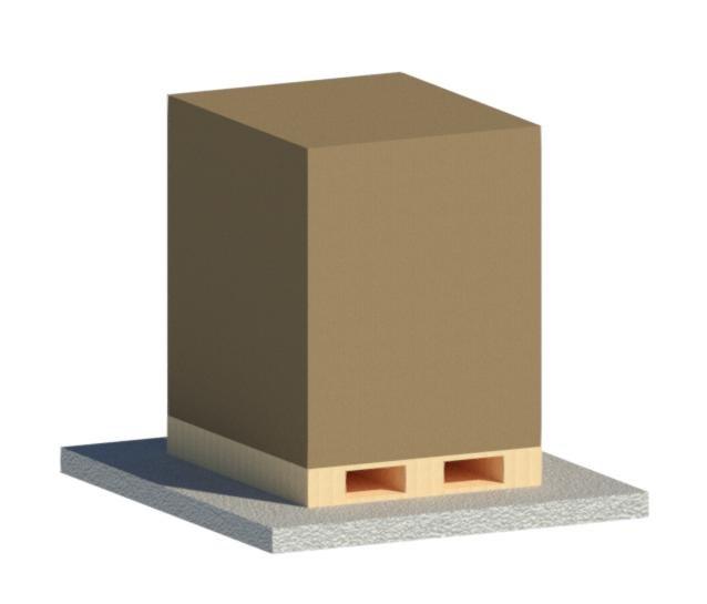 3D pallet parameters model