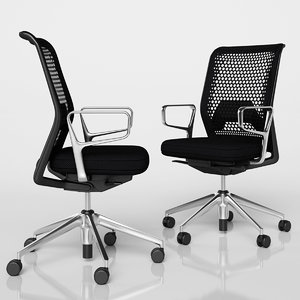 swivel chair mesh 3D