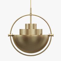 Multi-Lite pendant lamp by LOUIS WEISDORF