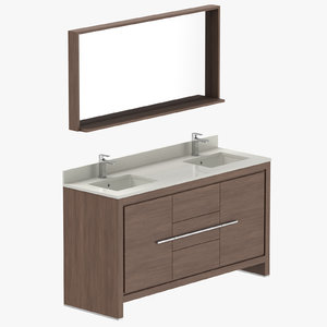 modern vanity 3D