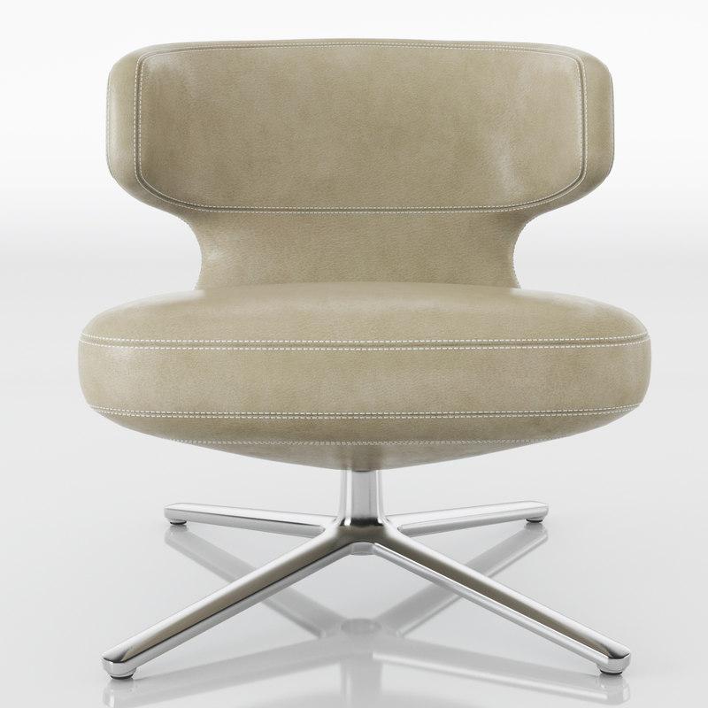 3D model vitra chair