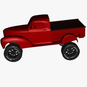 3D vehicles s studebaker