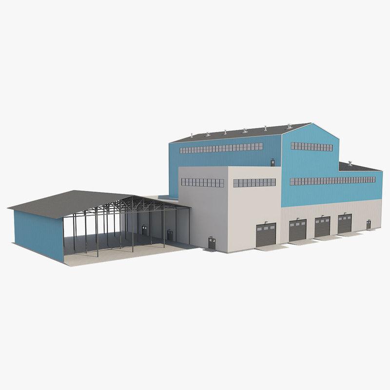 3D building industrial