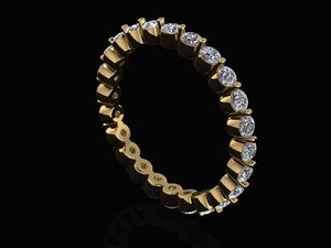eternity band 3D model