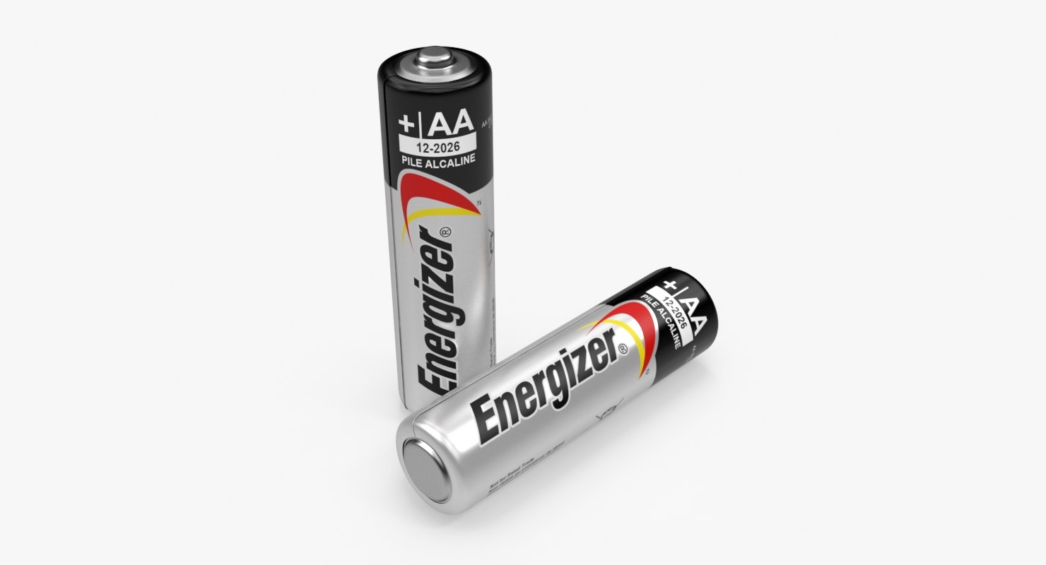 3D aa battery energizer