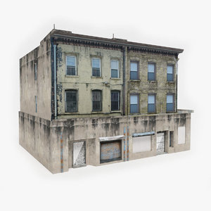ready apartment building model