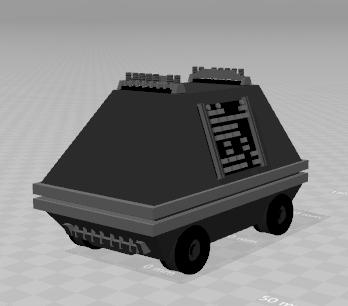 3D mse-6 mouse droid model