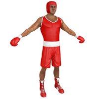 boxer man model