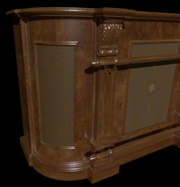 bar rack 3D model