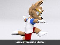 jumping 3D model