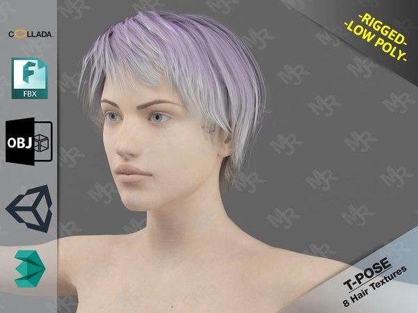 3D naked model