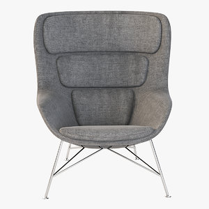 3D seating armchair