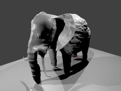 3D mammal model