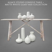 alsace studio console table 3D model