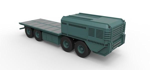 truck vehicle 3D model
