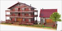 house home building 3D model