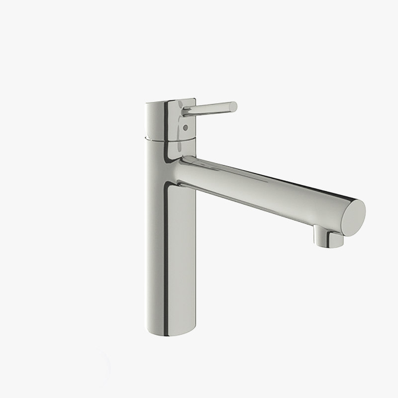 3D grohe concetto mixer model