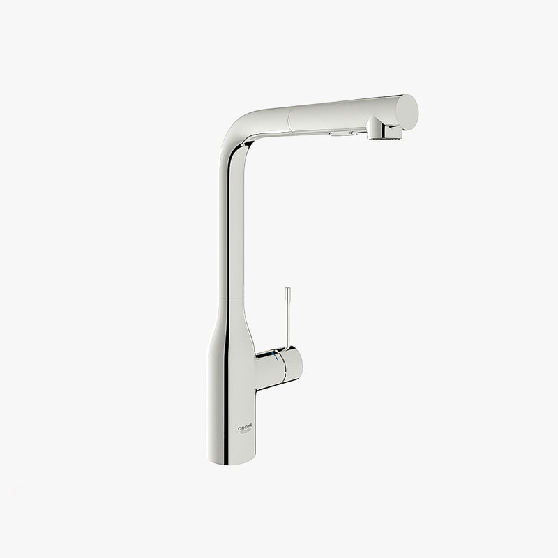 grohe essence new mixer 3D model