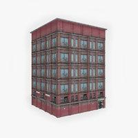 3D model ready city building