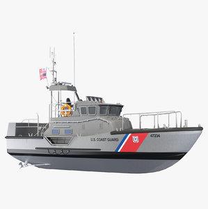 u s coast guard 3D model