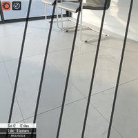 3D tile stone set 12