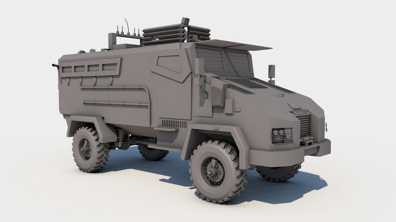 bmc kirpi 3D model