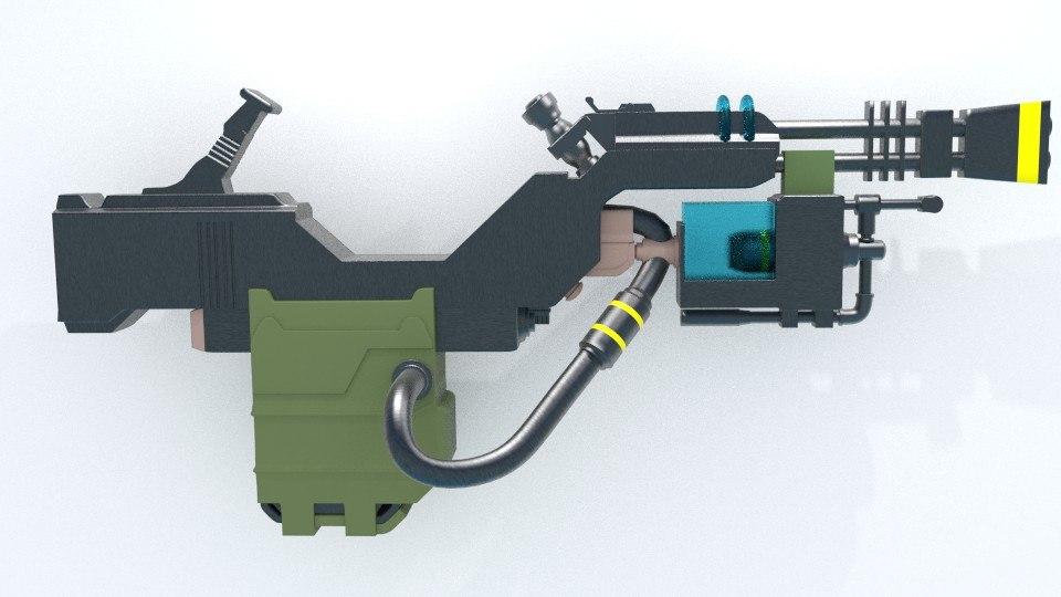 k9000 cyber dog gun model