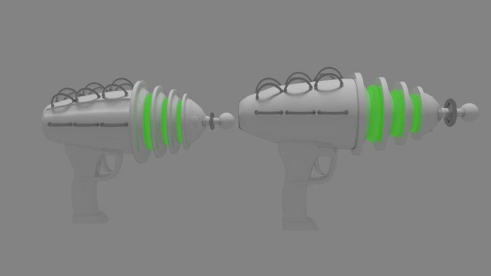 alien gun 3D