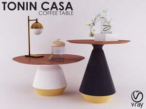 amira-occasional tables -tonin casa 3D model