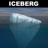 iceberg polar ocean model