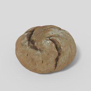 bread pbr 3D model
