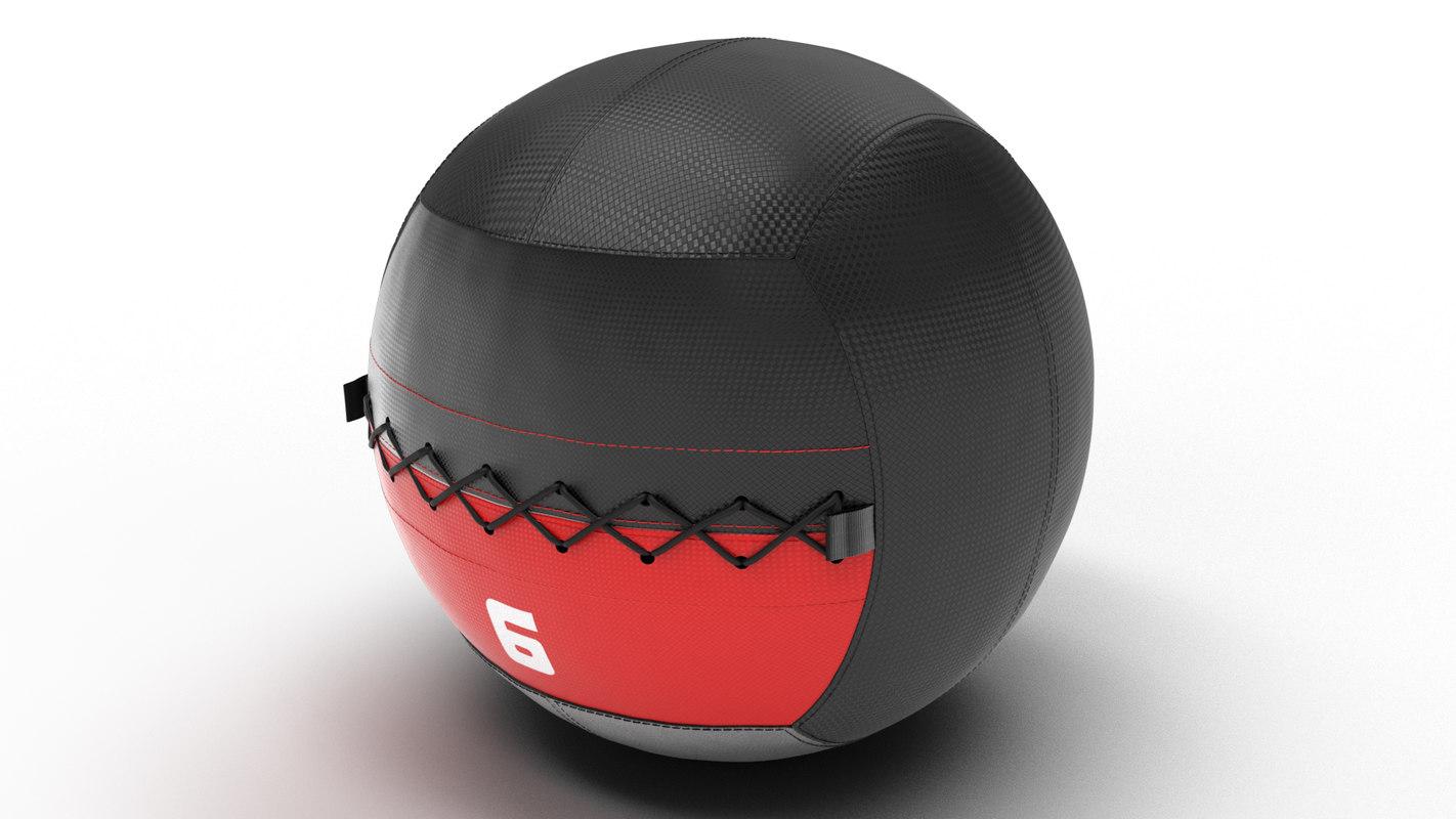 3D soft medecine ball
