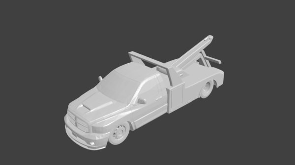 3D truck dodge ram
