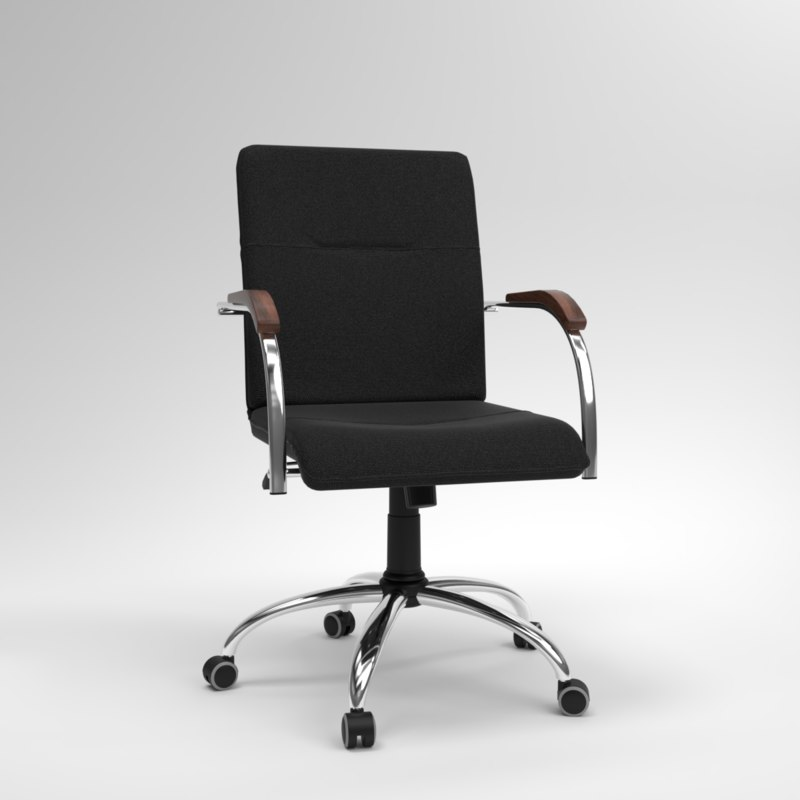 blender samba gtp office chair 3D model