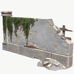 wall pbr 3D model