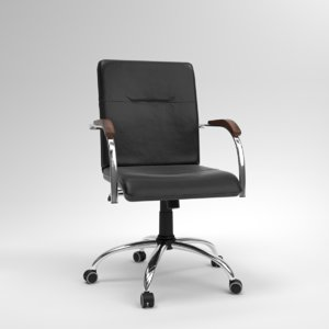 3D blender samba gtp office chair