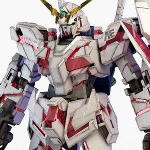 rx-0 unicorn gundam 3D