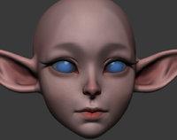 cartoon head model