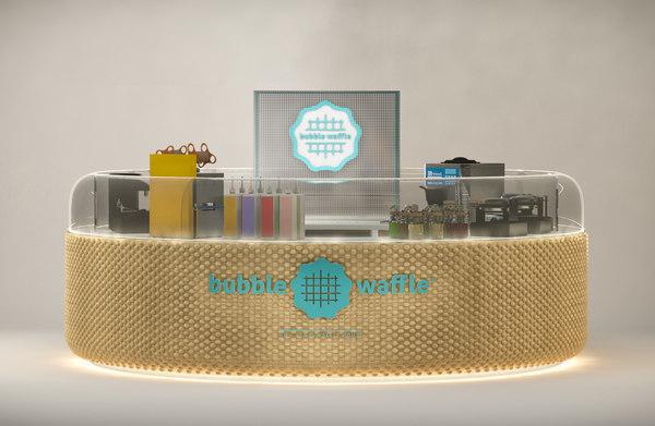 kiosk scene 3D model